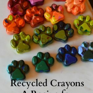 Recycled Crayons – A Recipe for Creative Play