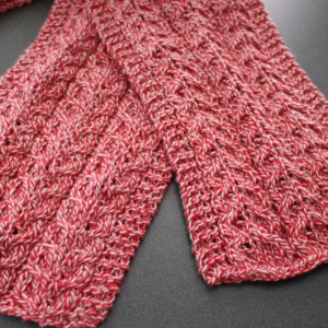 Simple Cable Knit Scarft