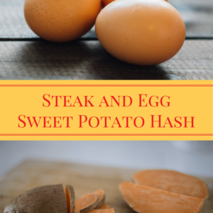 Steak and Egg Sweet Potato Hash