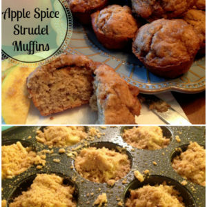 Apple Spice Strudel Muffins