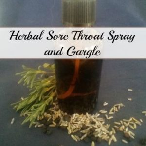 Sore Throat Spray and Gargle