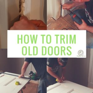 Trimming old doors