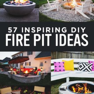 57 Inspiring DIY Fire Pit Plans & Ideas