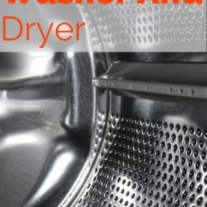 Cleaning Your Washer and Dryer
