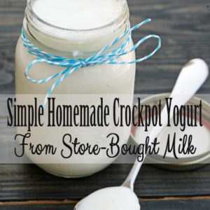 Homemade Crock-Pot Yogurt