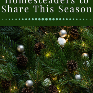 Gifts for Homesteaders to Share This Season