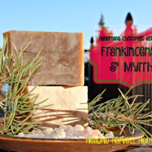 How to Make Handmade Frankincense & Myrrh Hot Process Soap