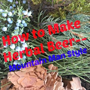 How to Make Herbal Beer with Herbs in Your Area!