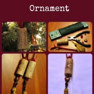 Beautiful Wine Cork Ornaments