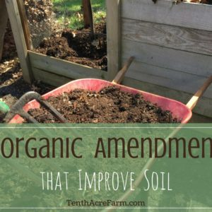 9 Organic Amendments that Improve Soil Structure and Texture