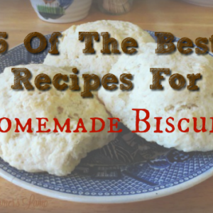 5 of the Best Recipes for Homemade Biscuits