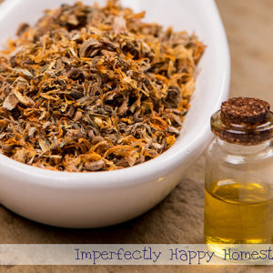 How to Make and Use Calendula Oil
