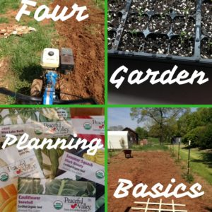 Garden Planning – 4 Tips to Plan Your Next Garden