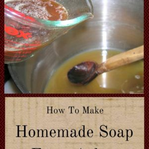How To Make Homemade Soap From Ashes