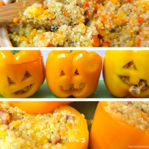 Sausage and Quinoa Stuffed Peppers – Halloween Recipes