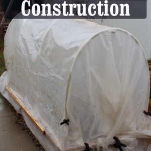 Learn How to build a simple Hoophouse