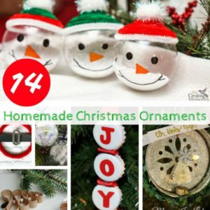 14 Homemade Christmas Ornaments