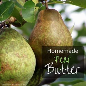 Pear Butter #Recipe
