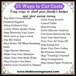 25 Ways to Cut Costs