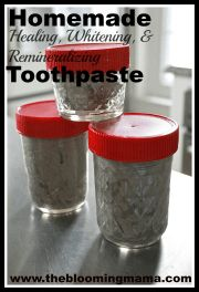 Homemade Toothpaste Tutorial