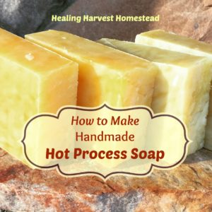 How to Make Hot Process Soap:  A Picture Tutorial