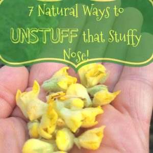 7 Ways to Unstuffy that Stuffy Nose!