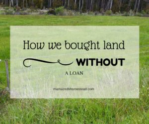 How to buy land loan free homestead bloggers network for Loan for land only