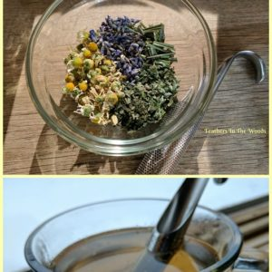 How to make an herbal sleep tea