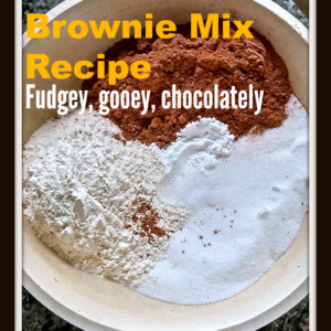 Powdered Brownie Mix Recipe
