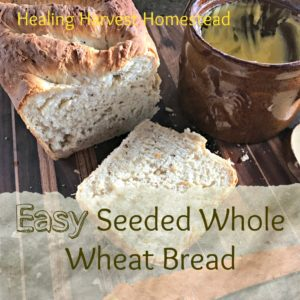 How to Bake Easy Seeded Bread