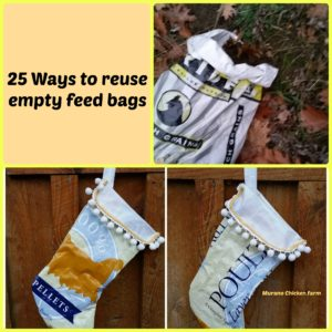 25 Ways to reuse empty feed bags
