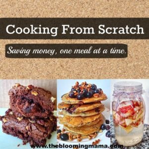 Cooking From Scratch to Save Money