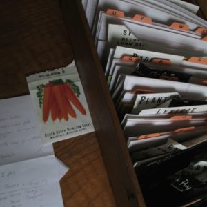 January~ Seed Ordering Time