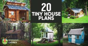 20 free diy tiny house plans to help you live the tiny for Small homes you can build yourself