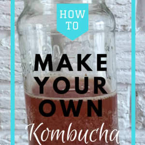 Making your own Kombucha at home!