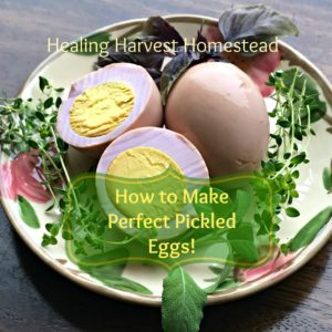How to Make Perfect Pickled Eggs