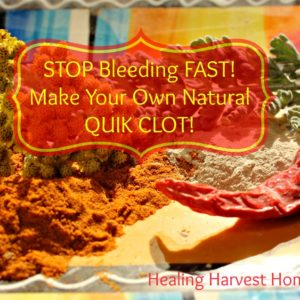 Make Your Own QuikClot—Stop Bleeding Fast!
