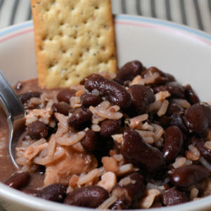 Once a Week Beans, Jamaican Kidney Beans
