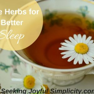 Five Herbs for Improving Sleep