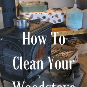 Cleaning Out the Woodstove