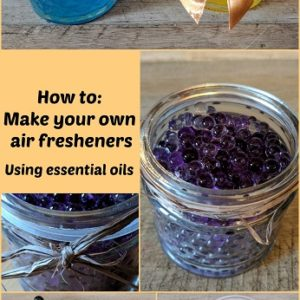 Make your own air fresheners