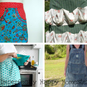 15 Free Apron Patterns