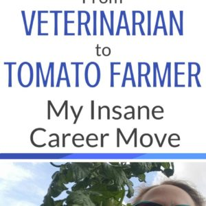 From Veterinarian To Tomato Farmer: My Insane Career Move