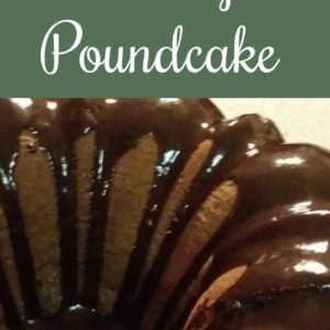 Does It Get Any Better Than Chocolate? Poundcake, That Is…