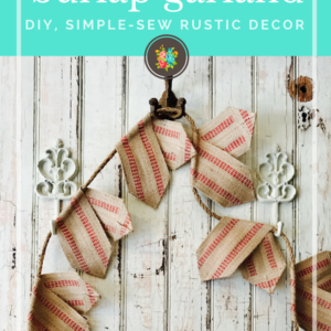 How To Sew a Burlap Garland