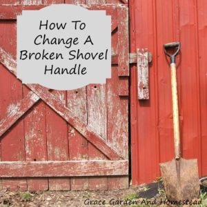 Replacing Your Broken Shovel Handle