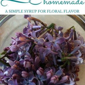 Lilac Syrup: A Simple Syrup For Floral Flavor