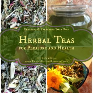 How to Make Your Own Herbal Tea Blends for Pleasure & Medicine