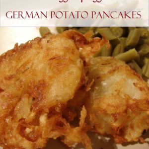 German Potato Pancakes – Kartoffelpuffer