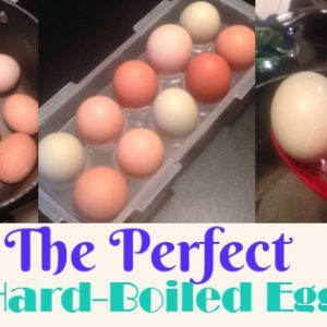 How to Cook the Perfect Hard-Boiled Egg